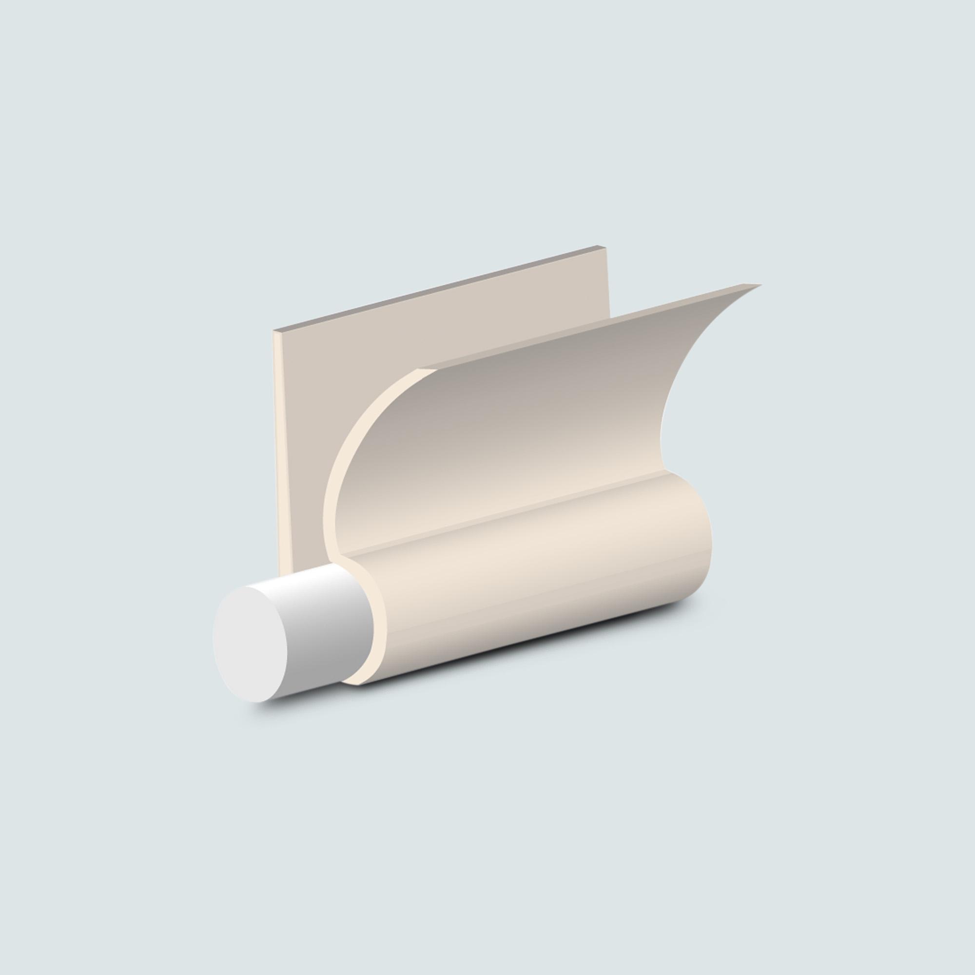 PROFILO PARABORDO PVC